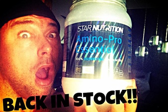 Amino-Pro is BACK!!