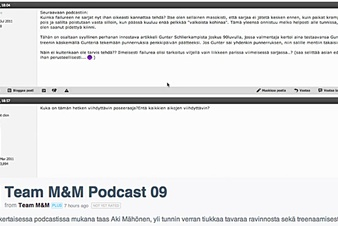 Team M&M - Podcast 09