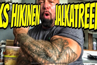 Yksi hikinen jalkatreeni - Video!