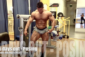 6 days out - Posing (video)