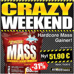 Crazy Week End - Mutant Mass