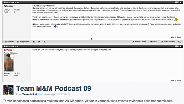 team M&M podcast 09