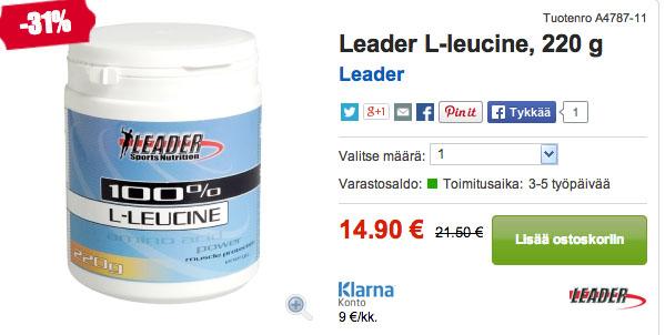 L-leusiini