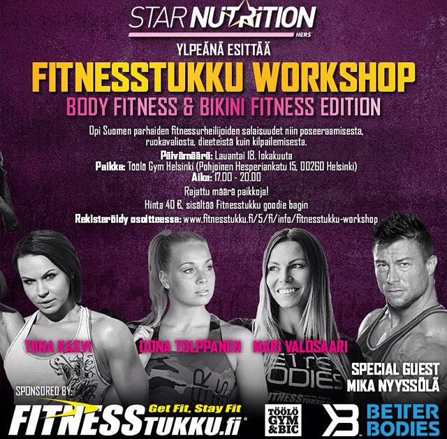 fitnesstukun workshop
