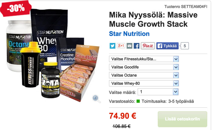 muscle growth stack