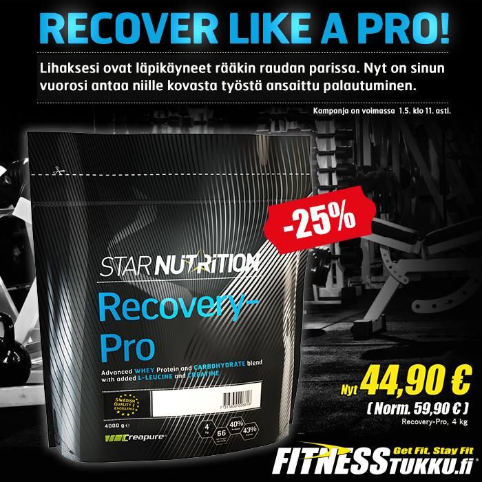 recovery pro tarjouksessa